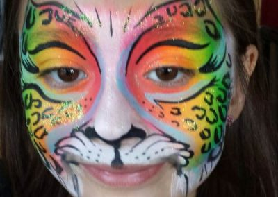 Face Painting- Cheetah butterfly2 (450x800)