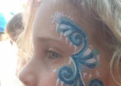 Face Painting- Frozen Swirls (450x800)