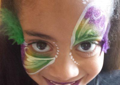 Face Painting Mardi Gras
