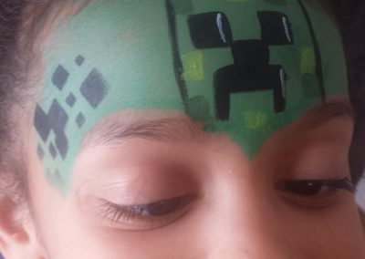 Face Painting Minecraft