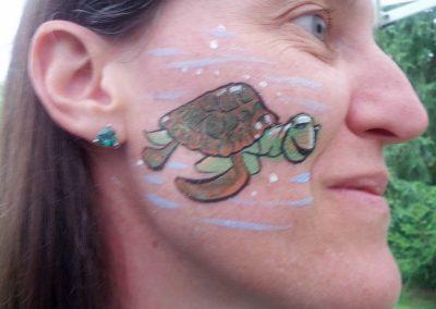 Face Painting- Nemo Turtle (800x600)