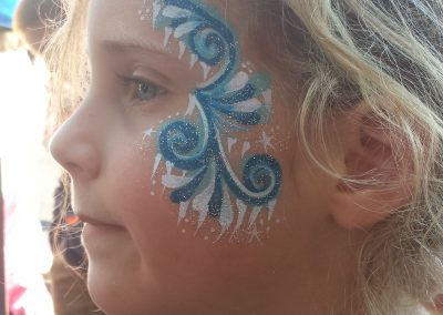 frozen-face-painting