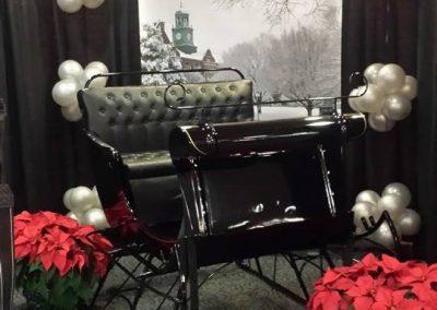 black sleigh